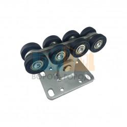 Опора роликовая (полимерные ролики) для ворот Alutech до 500 кг (SGN.02.100)