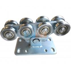 Опора роликовая (стальные ролики) для ворот Alutech до 700 кг (SGN.02.150)