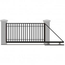 Ворота откатные решетчатые 3750х2000 мм