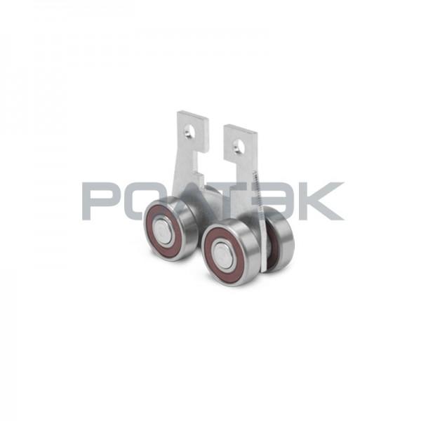Ролтэк тележка 211.RC74 B высокотемпературная с креплением под болт