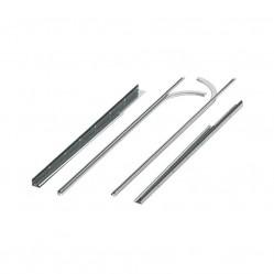 Комплект направляющих и угловых стоек №6 для ворот RSD01 под проем 2640мм (R6 AK)