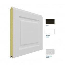 Панель 575мм Нфиленка230/Нстукко WENGE(Венге)/белая(RAL9003)