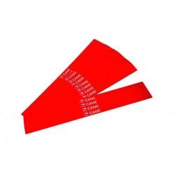 Came наклейки светоотражающие красного цвета, 20 штт (001G02809)
