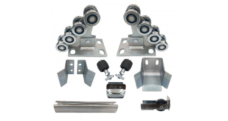 Ролтэк ЭКО комплектующие для откатных ворот до 500 кг (7м)