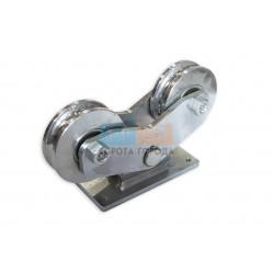Came Ролики комбинированные с полукруглой канавкой и масленкой, D120 (арт339 S/ROUNDED)