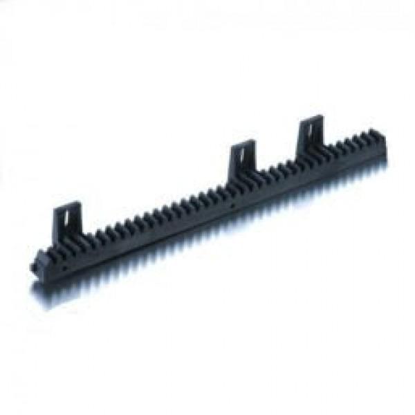 Came V/6 - зубчатая рейка полимерная со стальным сердечником, крепление снизу, бесшумная, модуль 4, до 60