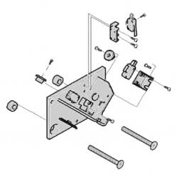 CAME Механические упоры концевых положений G4040 G4041 в сборе 119RIG177