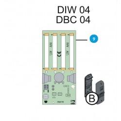 CAME Плата повторителя DIW04 DBC04 119RIR255