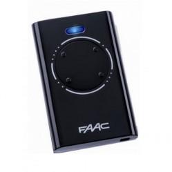 Faac XT4 пульт-брелок 433 МГц, 4-канальный, черного цвета 7870081