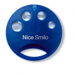 Nice Smilo 4 Blue пульт-брелок д/у для ворот и шлагбаумов
