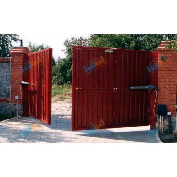 Ворота распашные 3500х3500 мм