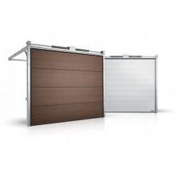 Гаражные секционные ворота серии Alutech Prestige 5125x2750