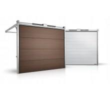 Гаражные секционные ворота серии Alutech Prestige 1750x1750