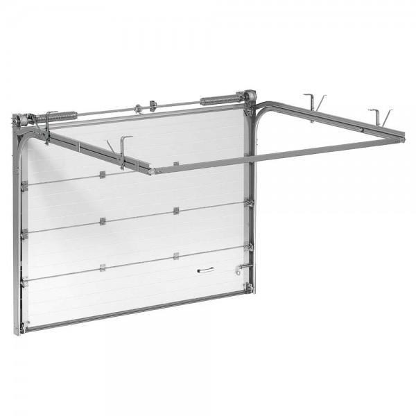 Гаражные секционные ворота Alutech Trend 1750х3250 мм